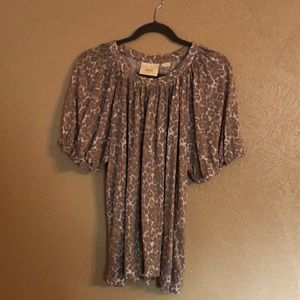 Maeve Anthropologie top size XL